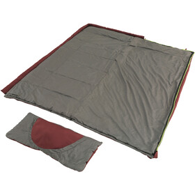 Outwell Contour Lux Sleeping Bag red